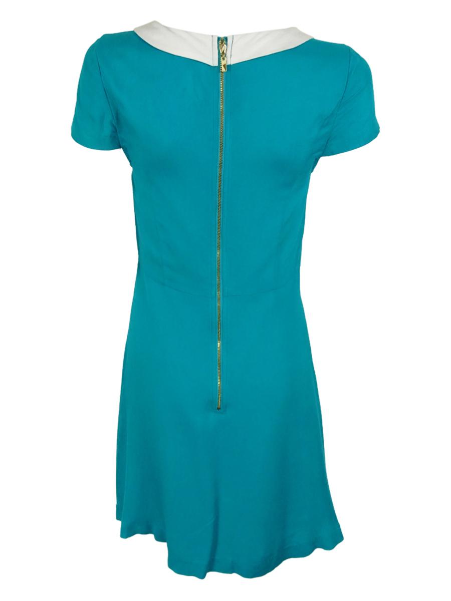 Kensie-Women-039-s-Tie-Neck-Dress thumbnail 4