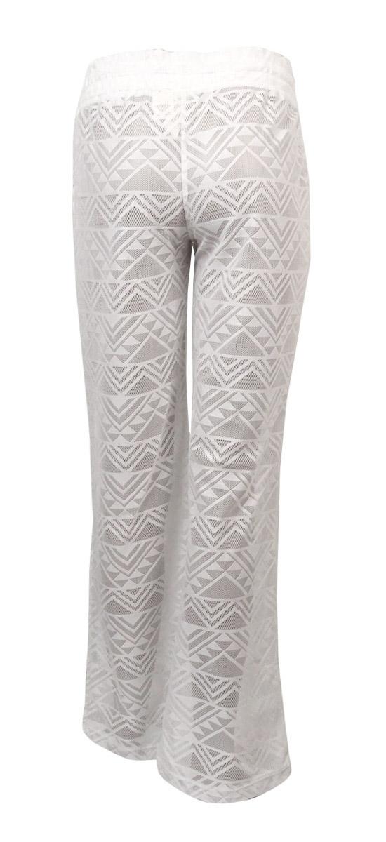 75aec15972 Miken Women's Crochet Lace Swim Pants Cover up S White 28 for sale ...