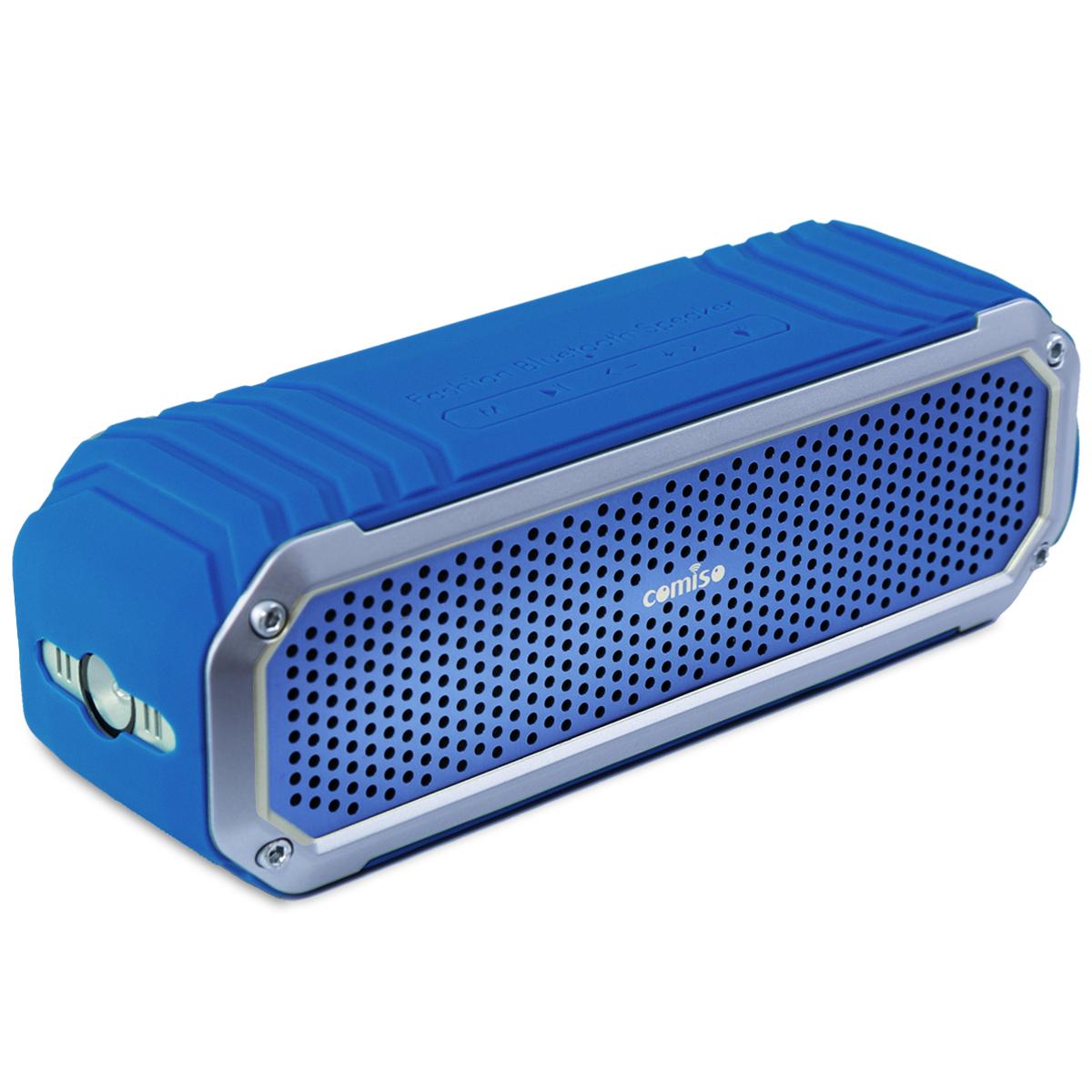 10w portable bluetooth stereo bass speaker waterproof. Black Bedroom Furniture Sets. Home Design Ideas