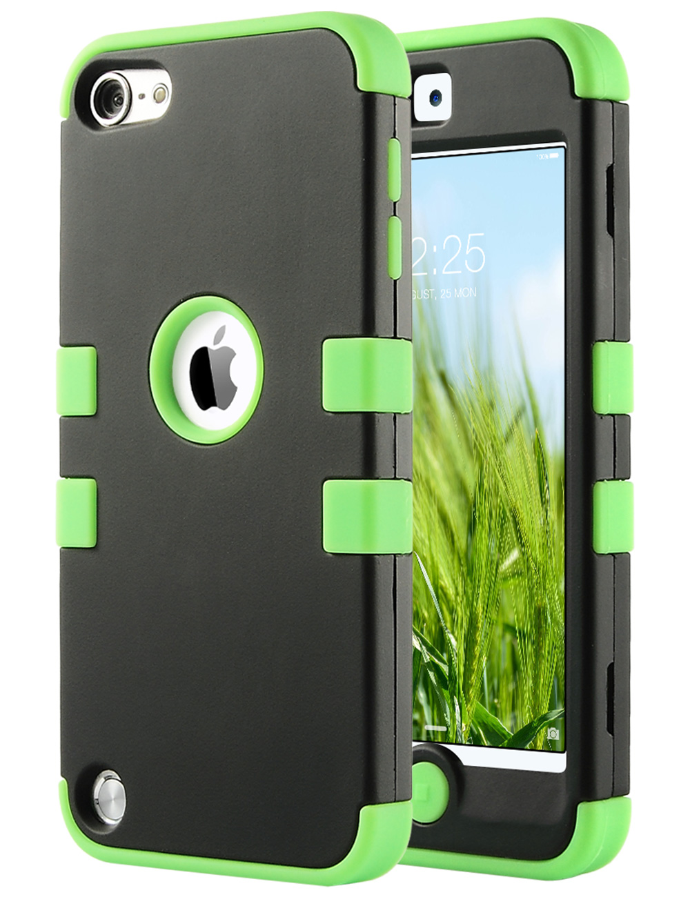 Apple-iPod-Touch-5-6th-Gen-Case-Hybrid-High-Impact-Armor-Hard-amp-Soft-Rubber-Cover thumbnail 14