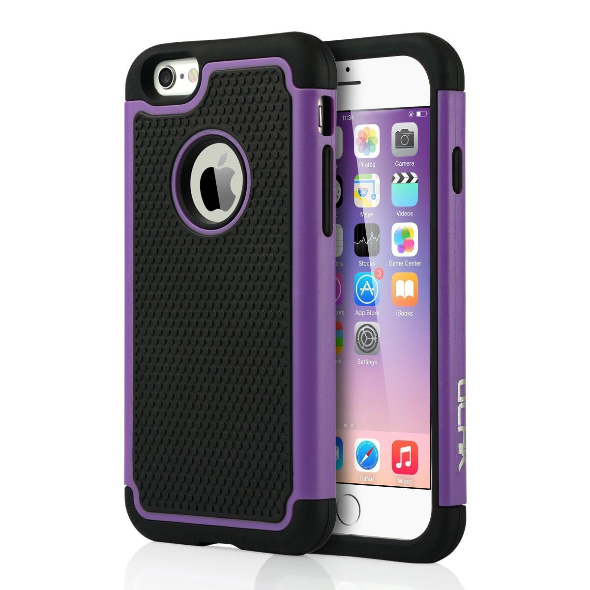 apple iphone 6 cases rugged rubber shockproof protective cover for 13446