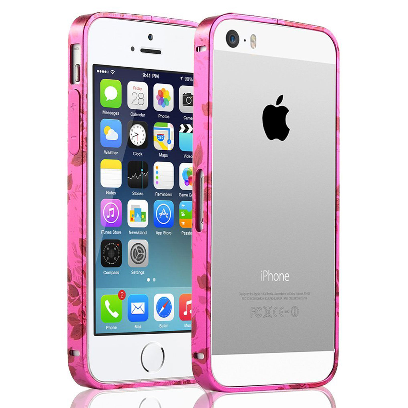 iphone 5s walmart ultra slim metallic frame bumper aluminum skin cover 11268