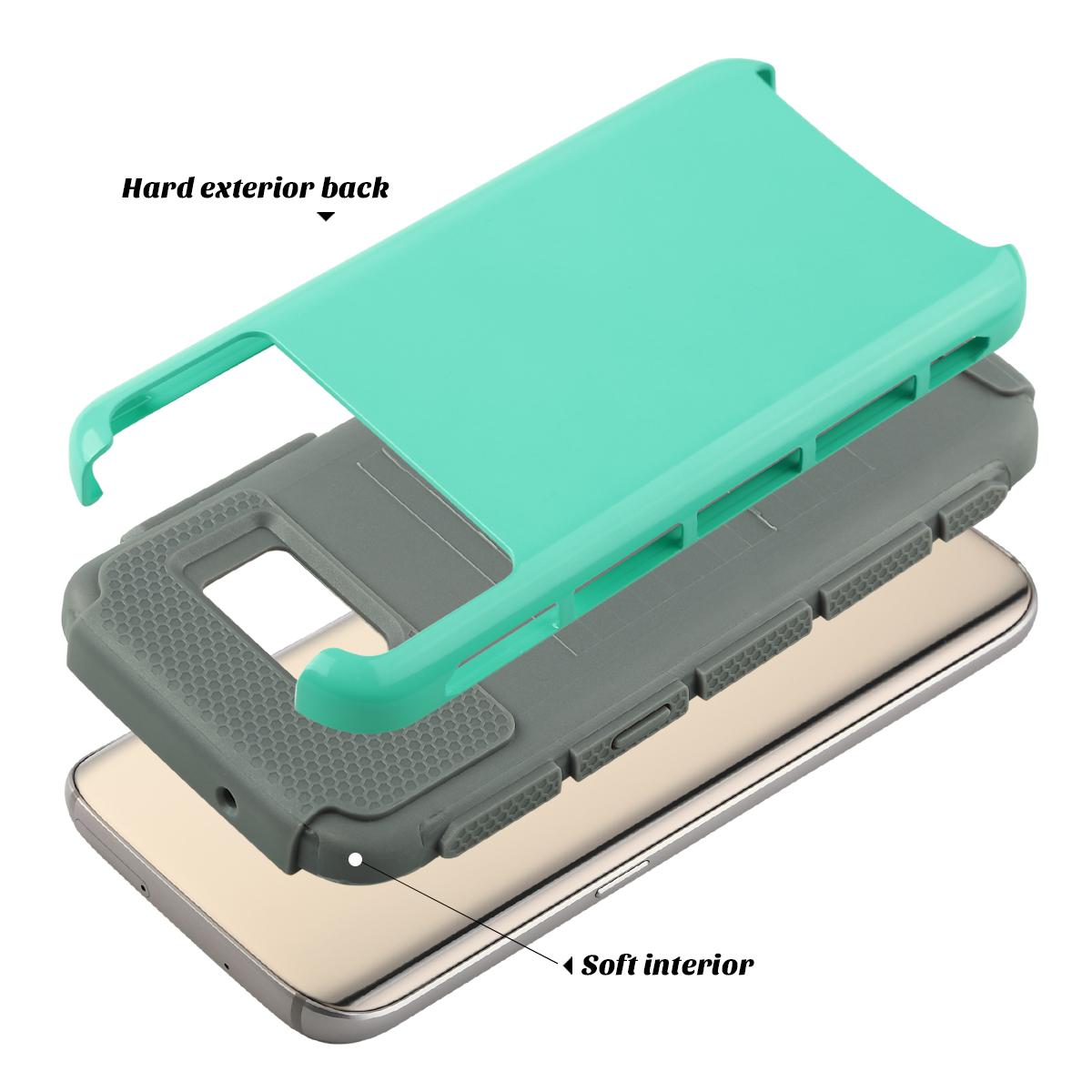 shockproof hybrid rubber protective cover case for samsung. Black Bedroom Furniture Sets. Home Design Ideas