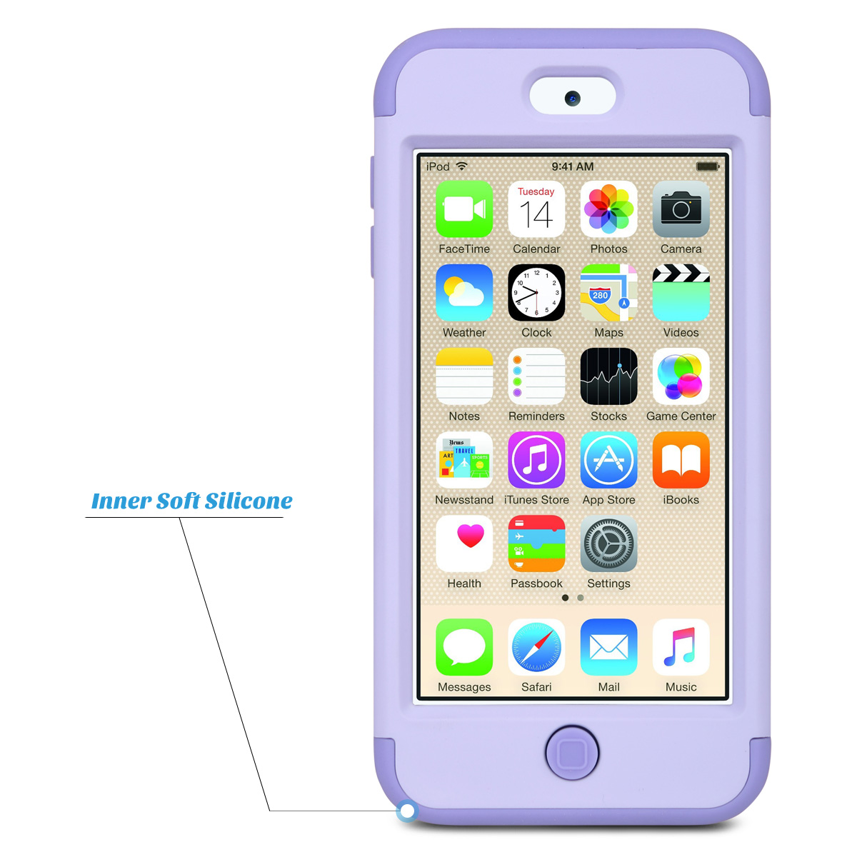 Hybrid-Hard-Protective-Silicon-TPU-Case-for-Apple-iPod-Touch-5-6th-Generation thumbnail 77