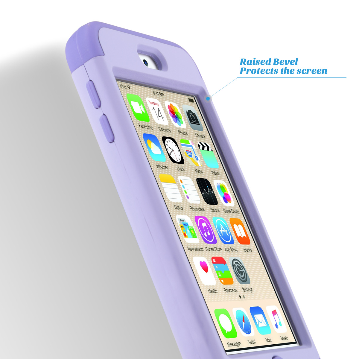 Hybrid-Hard-Protective-Silicon-TPU-Case-for-Apple-iPod-Touch-5-6th-Generation thumbnail 81