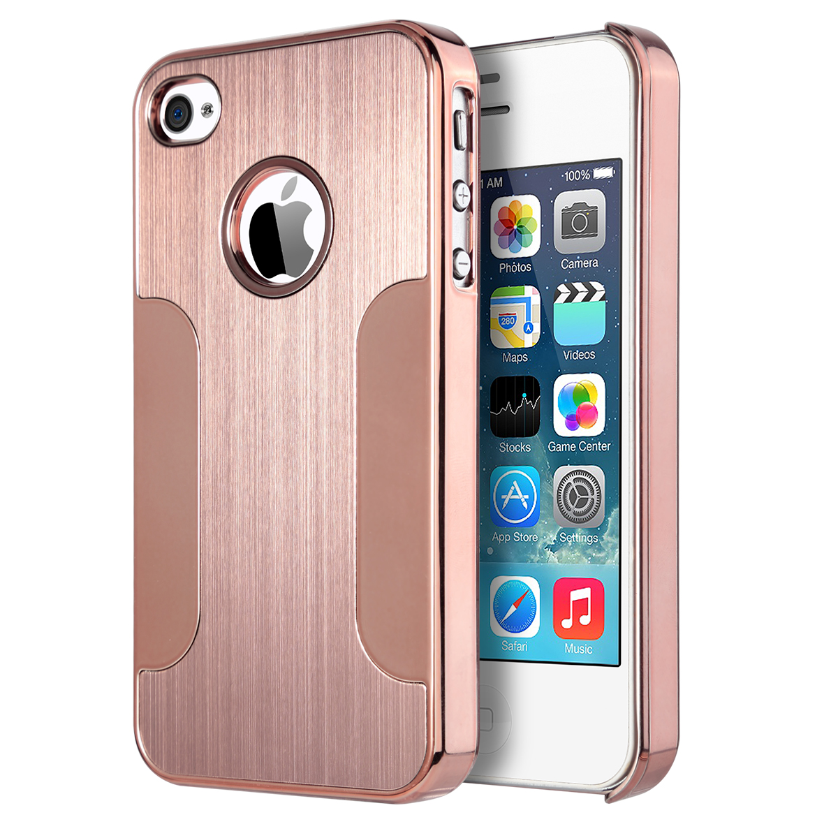 iphone 4s cases for sale ulak aluminum chrome coating bumper back cover 9539