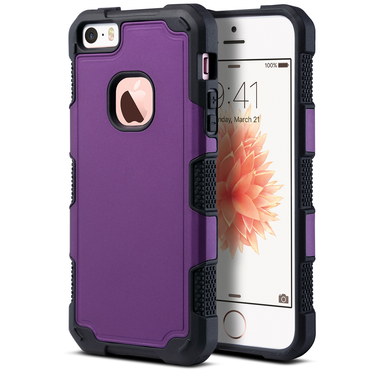 iphone 5 protective case for iphone 5 5s se hybrid rugged shockproof 14560