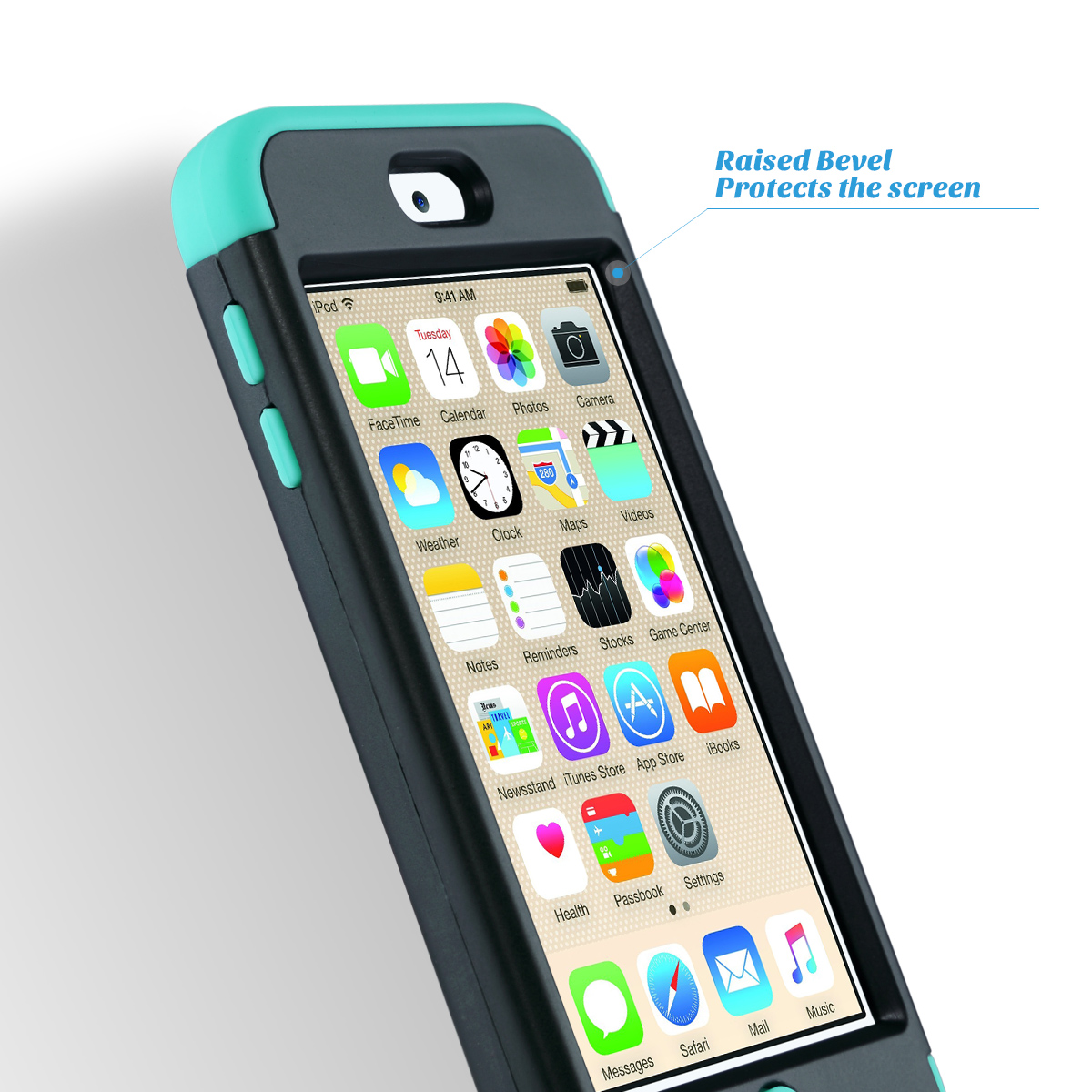 Hybrid-Hard-Protective-Silicon-TPU-Case-for-Apple-iPod-Touch-5-6th-Generation thumbnail 52