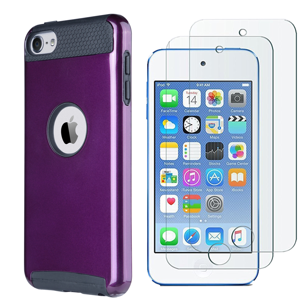 Hybrid-Hard-Protective-Silicon-TPU-Case-for-Apple-iPod-Touch-5-6th-Generation thumbnail 87