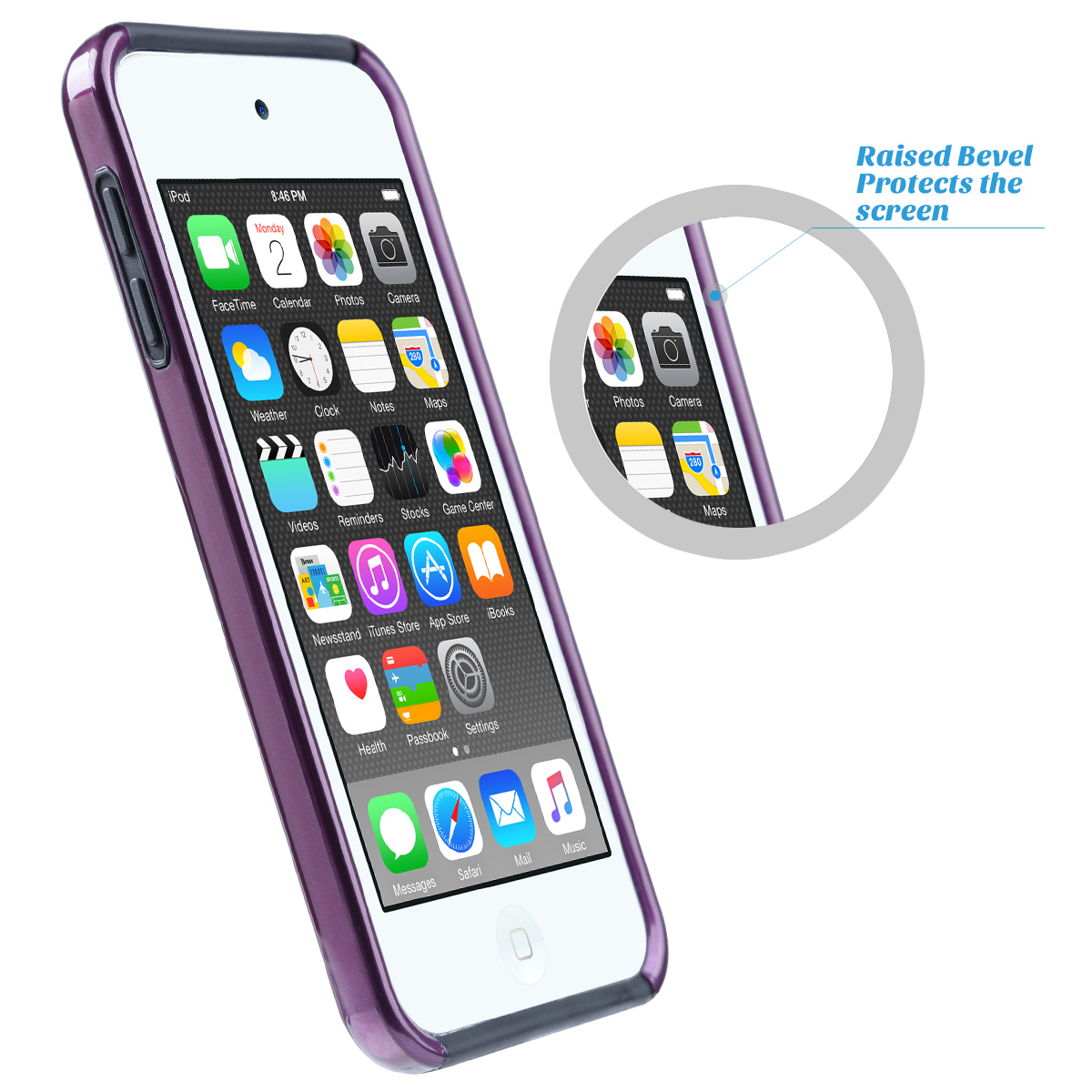 Hybrid-Hard-Protective-Silicon-TPU-Case-for-Apple-iPod-Touch-5-6th-Generation thumbnail 86