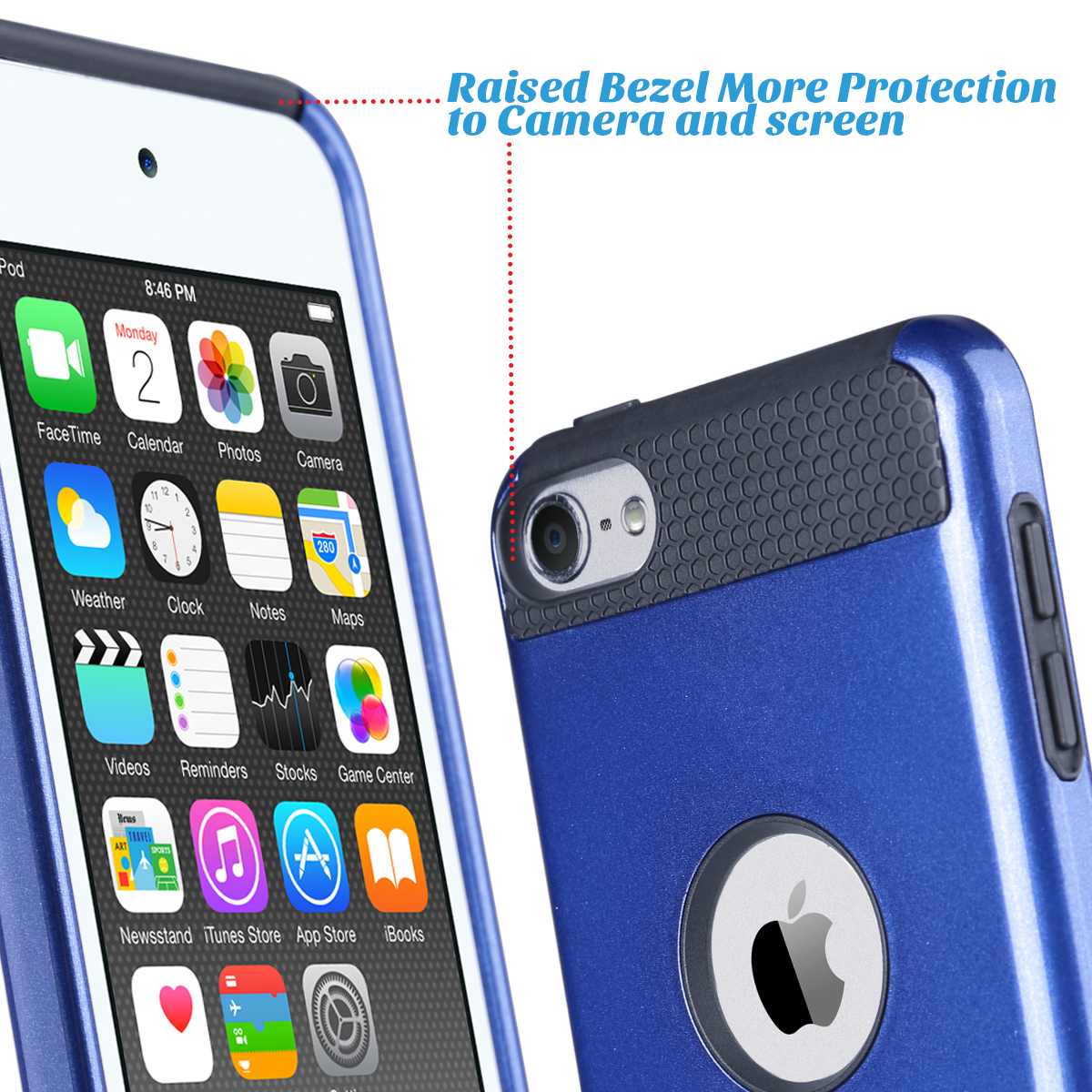 Hybrid-Hard-Protective-Silicon-TPU-Case-for-Apple-iPod-Touch-5-6th-Generation thumbnail 69