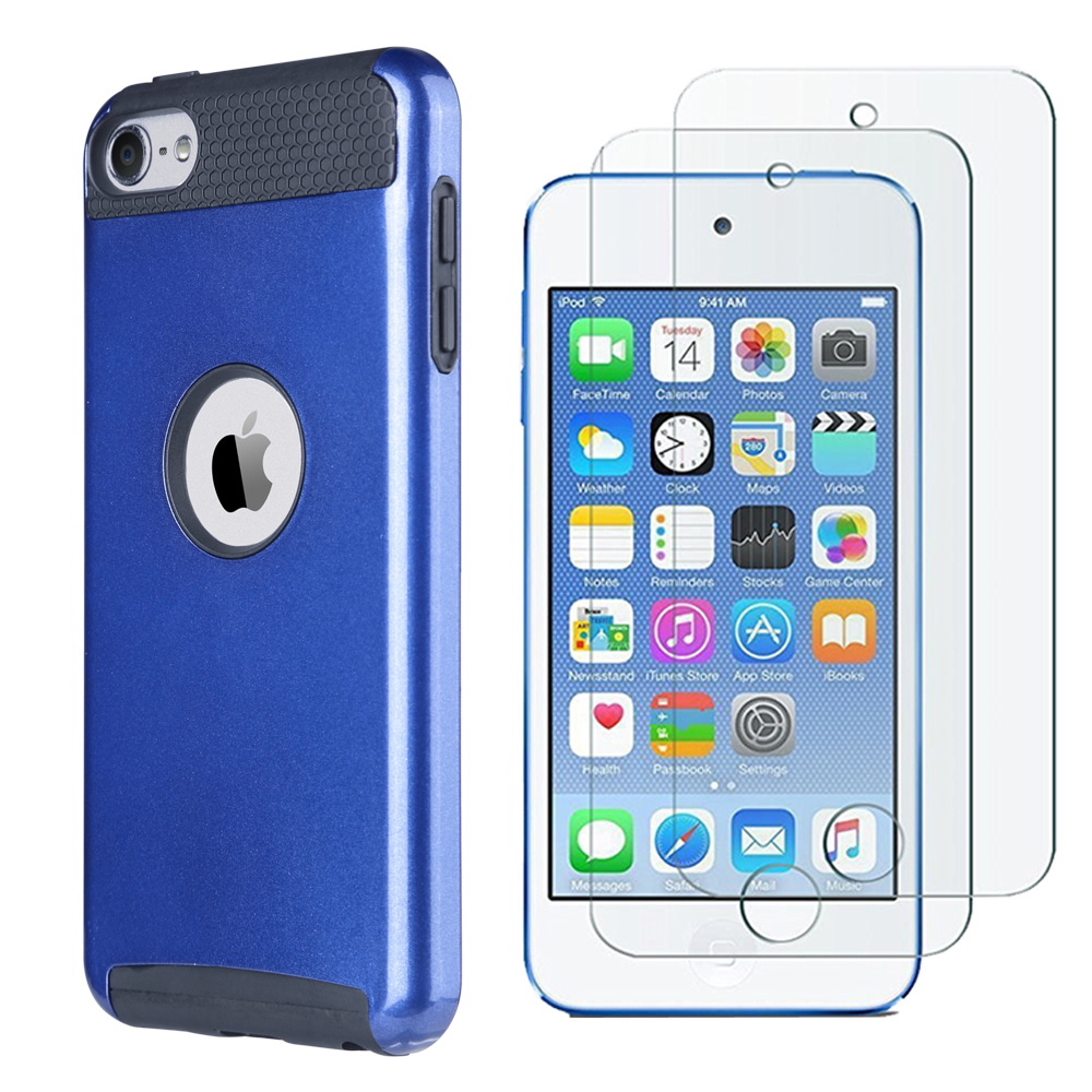 Hybrid-Hard-Protective-Silicon-TPU-Case-for-Apple-iPod-Touch-5-6th-Generation thumbnail 73
