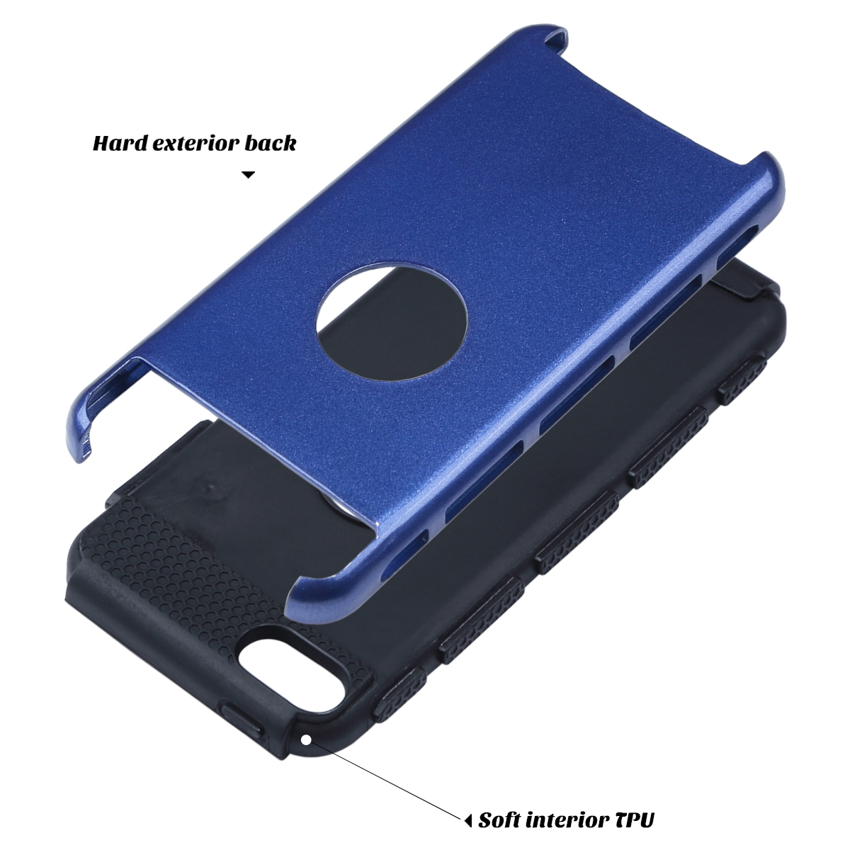 Hybrid-Hard-Protective-Silicon-TPU-Case-for-Apple-iPod-Touch-5-6th-Generation thumbnail 67