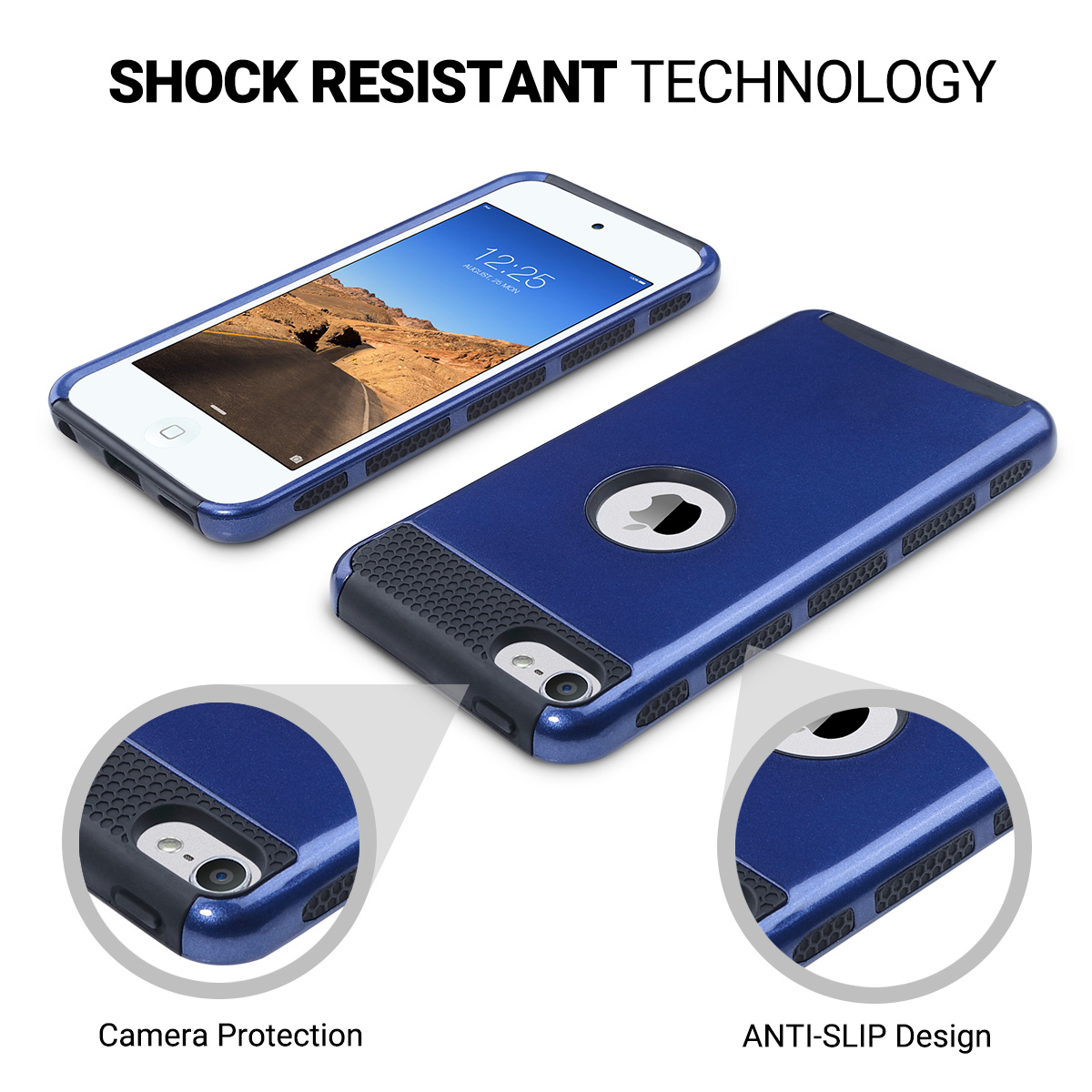 Hybrid-Hard-Protective-Silicon-TPU-Case-for-Apple-iPod-Touch-5-6th-Generation thumbnail 70