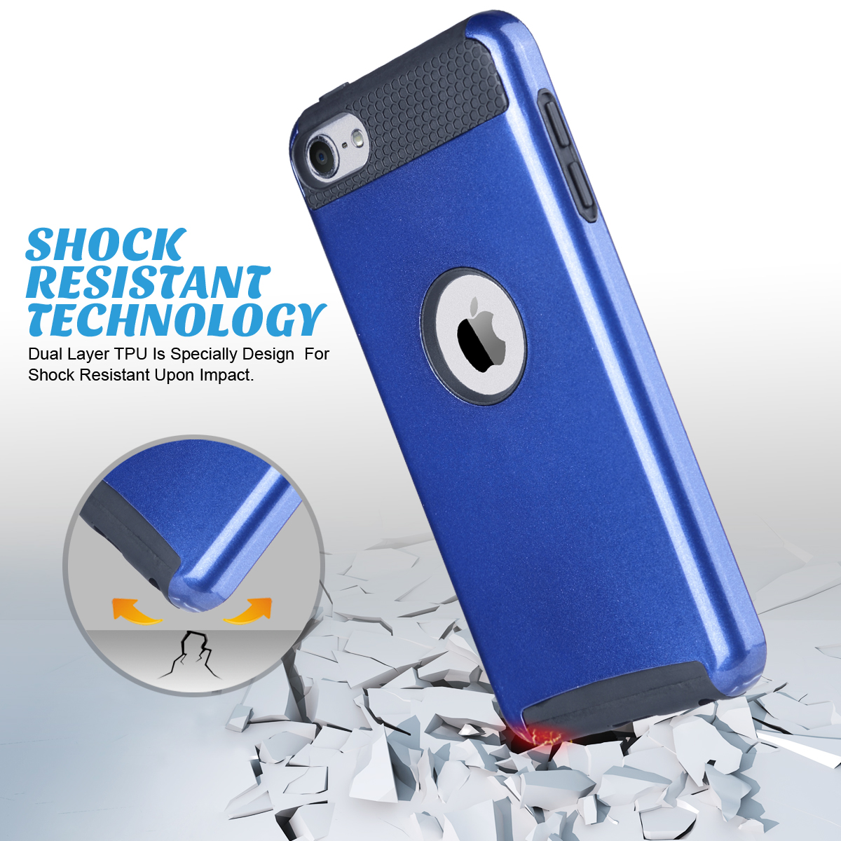 Hybrid-Hard-Protective-Silicon-TPU-Case-for-Apple-iPod-Touch-5-6th-Generation thumbnail 71