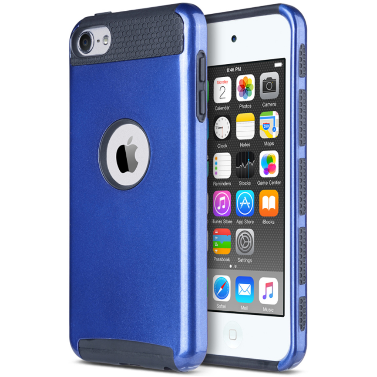 Hybrid-Hard-Protective-Silicon-TPU-Case-for-Apple-iPod-Touch-5-6th-Generation thumbnail 66