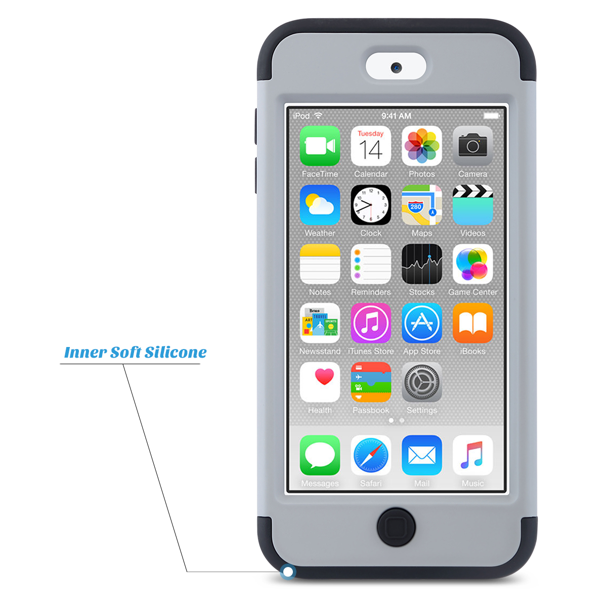 Hybrid-Hard-Protective-Silicon-TPU-Case-for-Apple-iPod-Touch-5-6th-Generation thumbnail 37