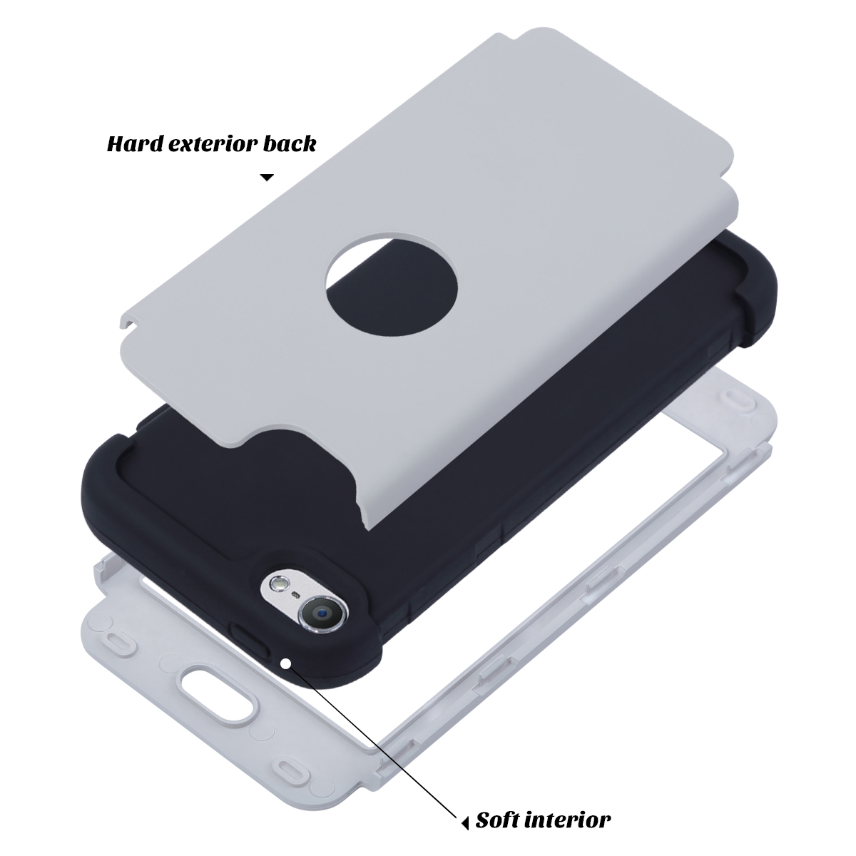 Hybrid-Hard-Protective-Silicon-TPU-Case-for-Apple-iPod-Touch-5-6th-Generation thumbnail 38