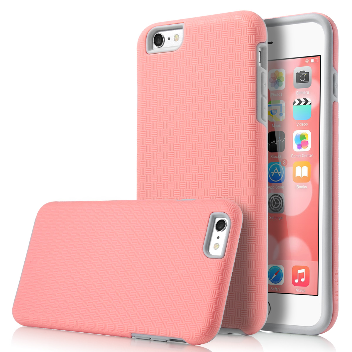 apple iphone 6 accessories shockproof slick armor hybrid rugged cover for apple 13444