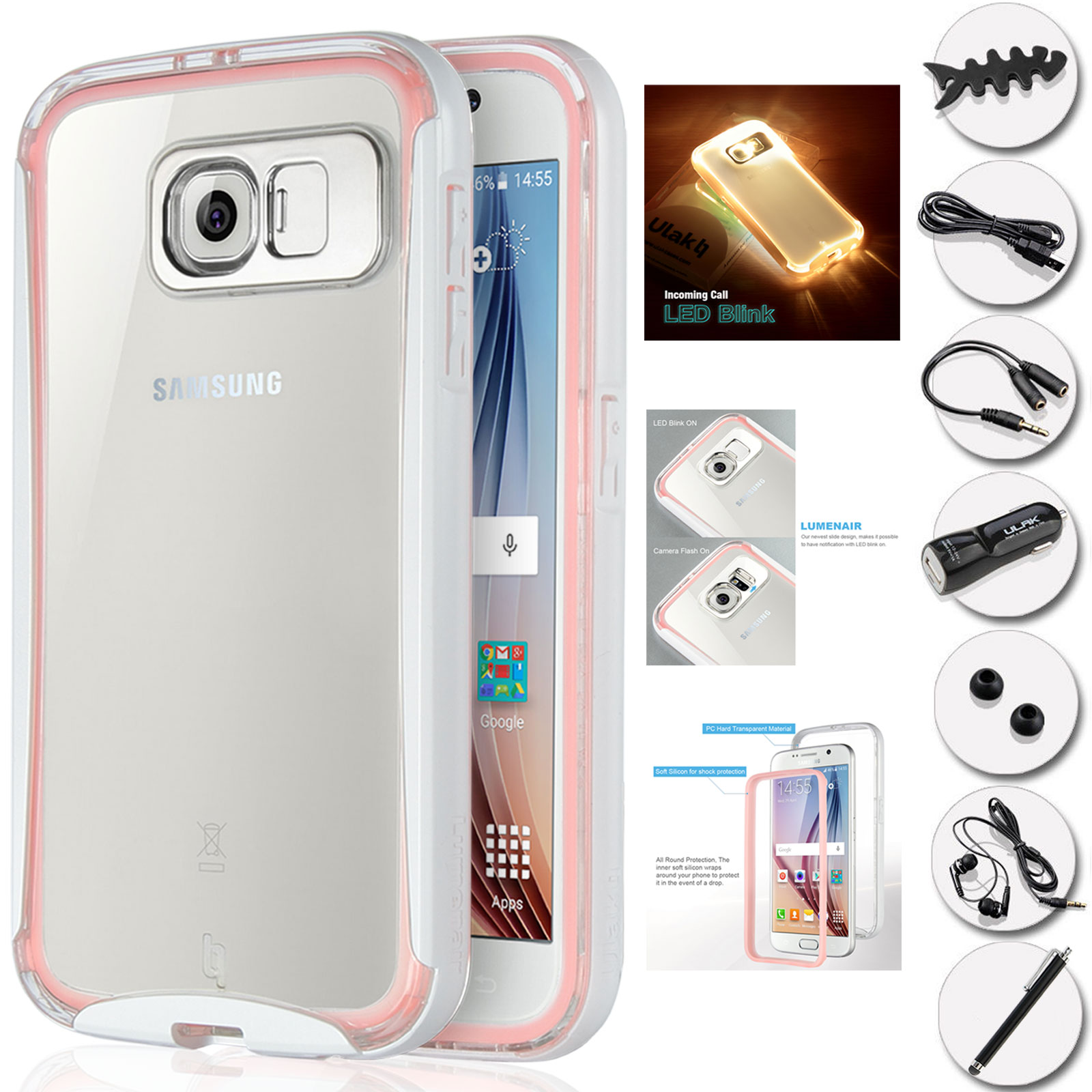 samsung galaxy s6 shock proof case