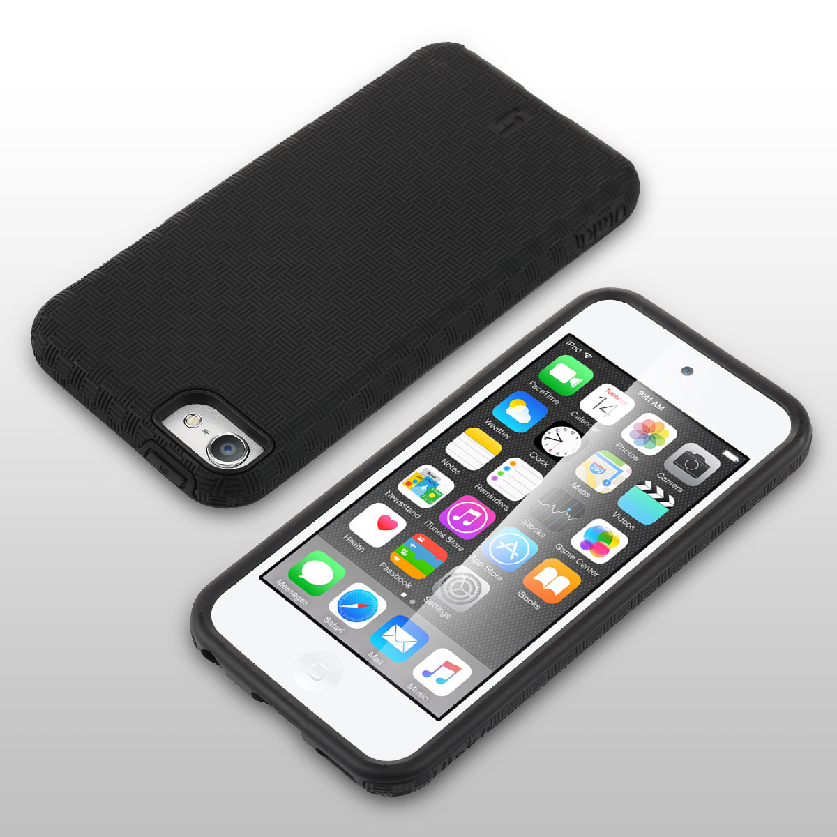 finest selection be1aa 422db Details about ULAK Shockproof Hard Rugged SLICK ARMOR Case Cover for Apple  iPod Touch 6/5th