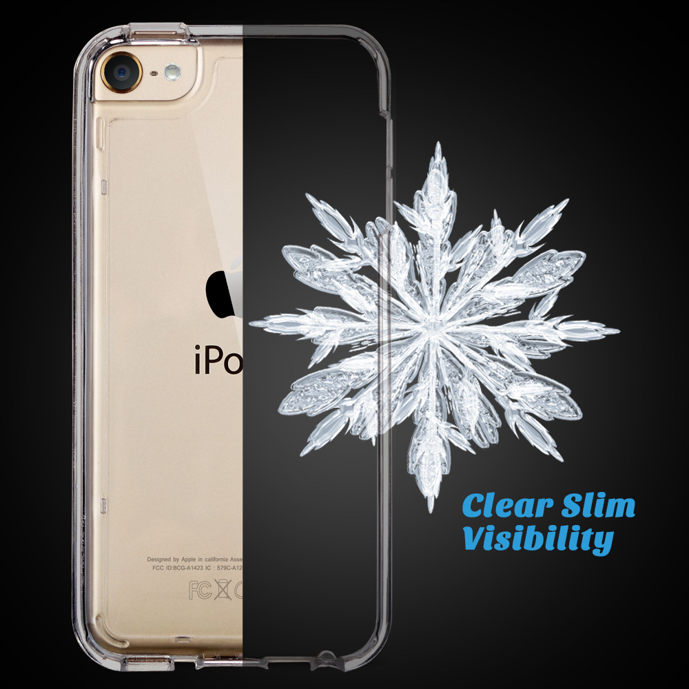 For-iPod-Touch-5-6th-7-Gen-Crystal-Clear-Back-Shockproof-Bumper-Hard-Case-Cover thumbnail 19
