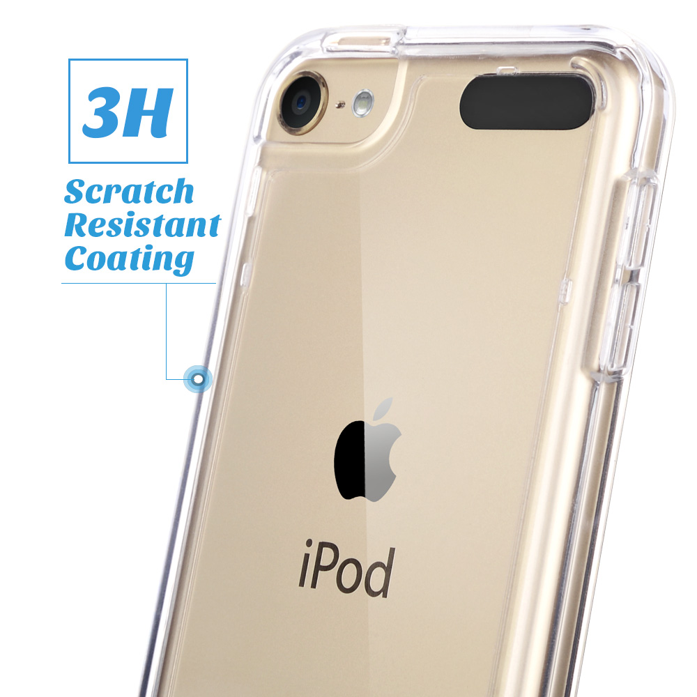 For-iPod-Touch-5-6th-7-Gen-Crystal-Clear-Back-Shockproof-Bumper-Hard-Case-Cover thumbnail 21