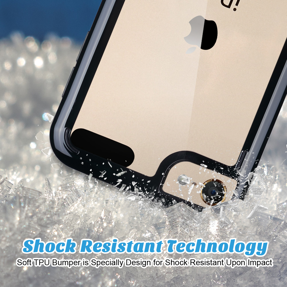 For-iPod-Touch-5-6th-7-Gen-Crystal-Clear-Back-Shockproof-Bumper-Hard-Case-Cover thumbnail 2