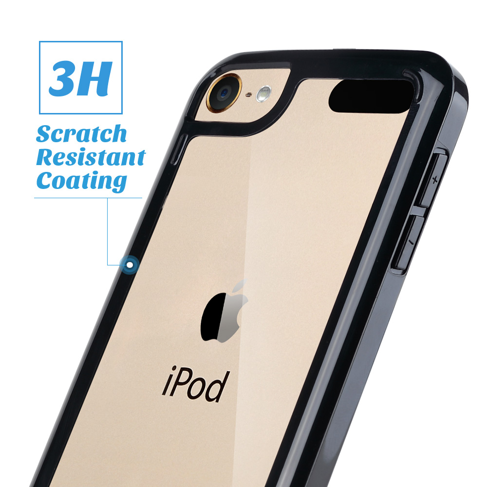 For-iPod-Touch-5-6th-7-Gen-Crystal-Clear-Back-Shockproof-Bumper-Hard-Case-Cover thumbnail 6