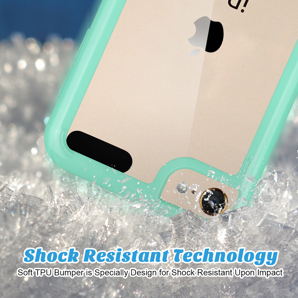 For-iPod-Touch-5-6th-7-Gen-Crystal-Clear-Back-Shockproof-Bumper-Hard-Case-Cover thumbnail 38