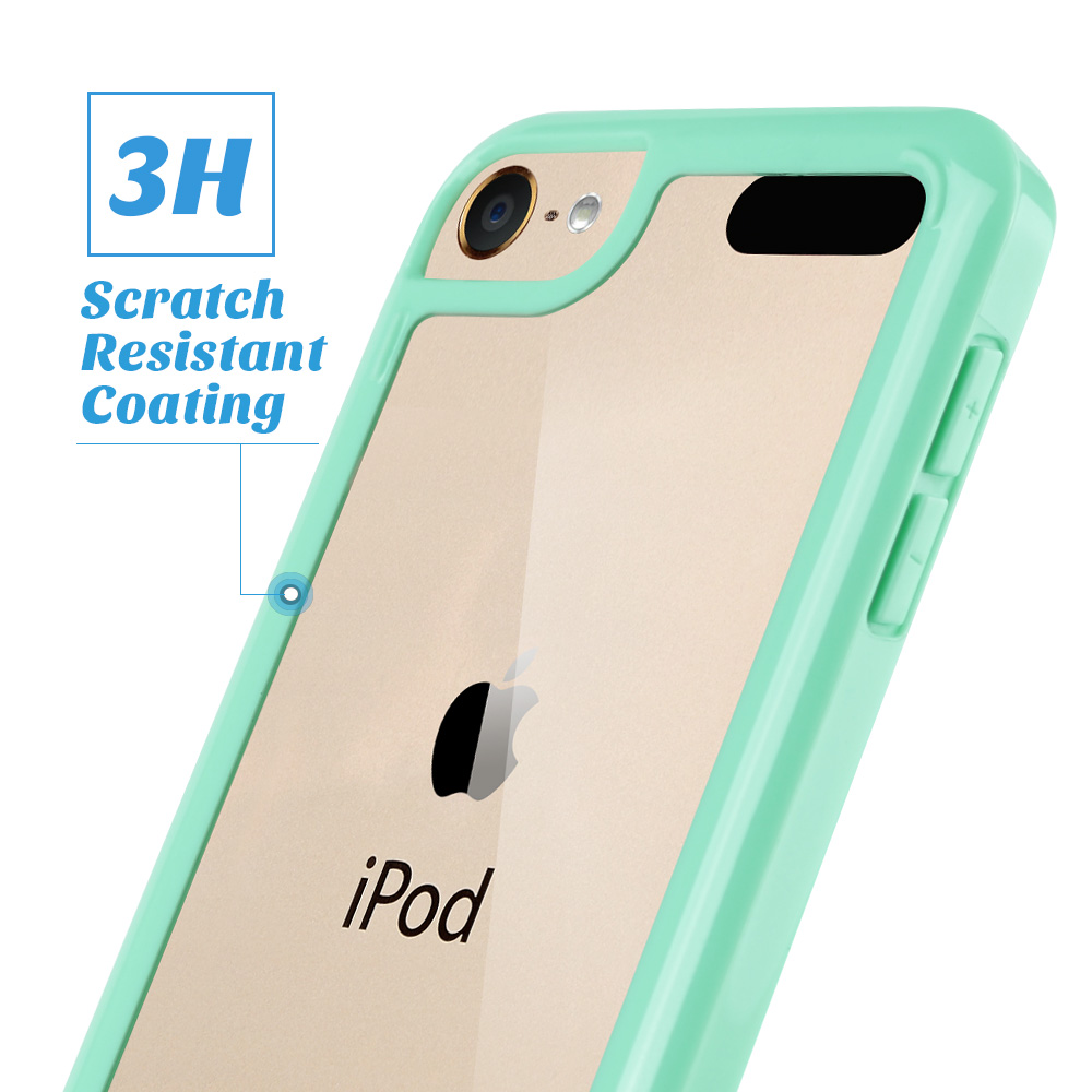For-iPod-Touch-5-6th-7-Gen-Crystal-Clear-Back-Shockproof-Bumper-Hard-Case-Cover thumbnail 43