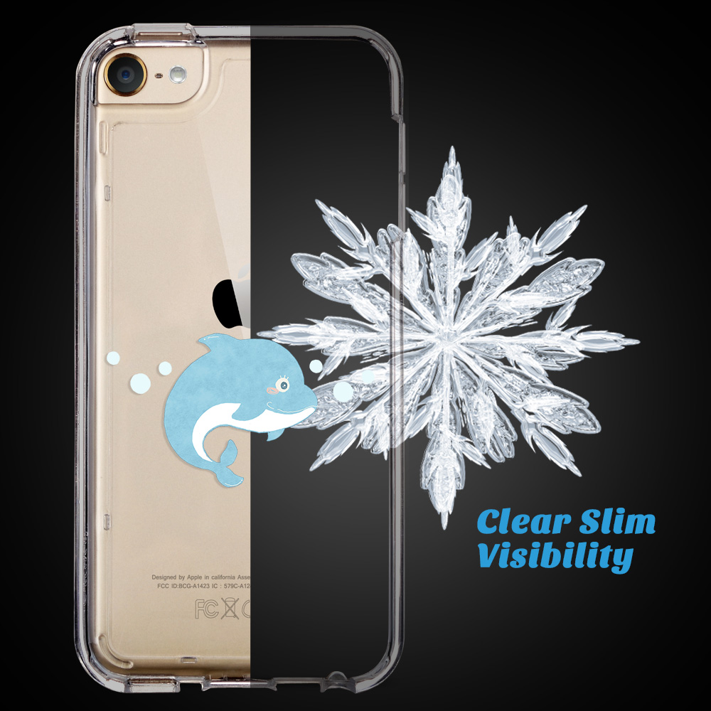 For-iPod-Touch-5-6th-7-Gen-Crystal-Clear-Back-Shockproof-Bumper-Hard-Case-Cover thumbnail 27