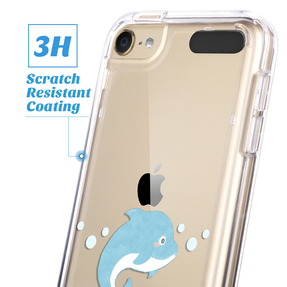 For-iPod-Touch-5-6th-7-Gen-Crystal-Clear-Back-Shockproof-Bumper-Hard-Case-Cover thumbnail 29