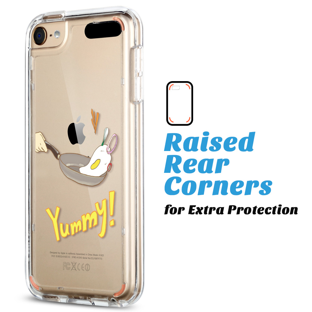 For-iPod-Touch-5-6th-7-Gen-Crystal-Clear-Back-Shockproof-Bumper-Hard-Case-Cover thumbnail 52