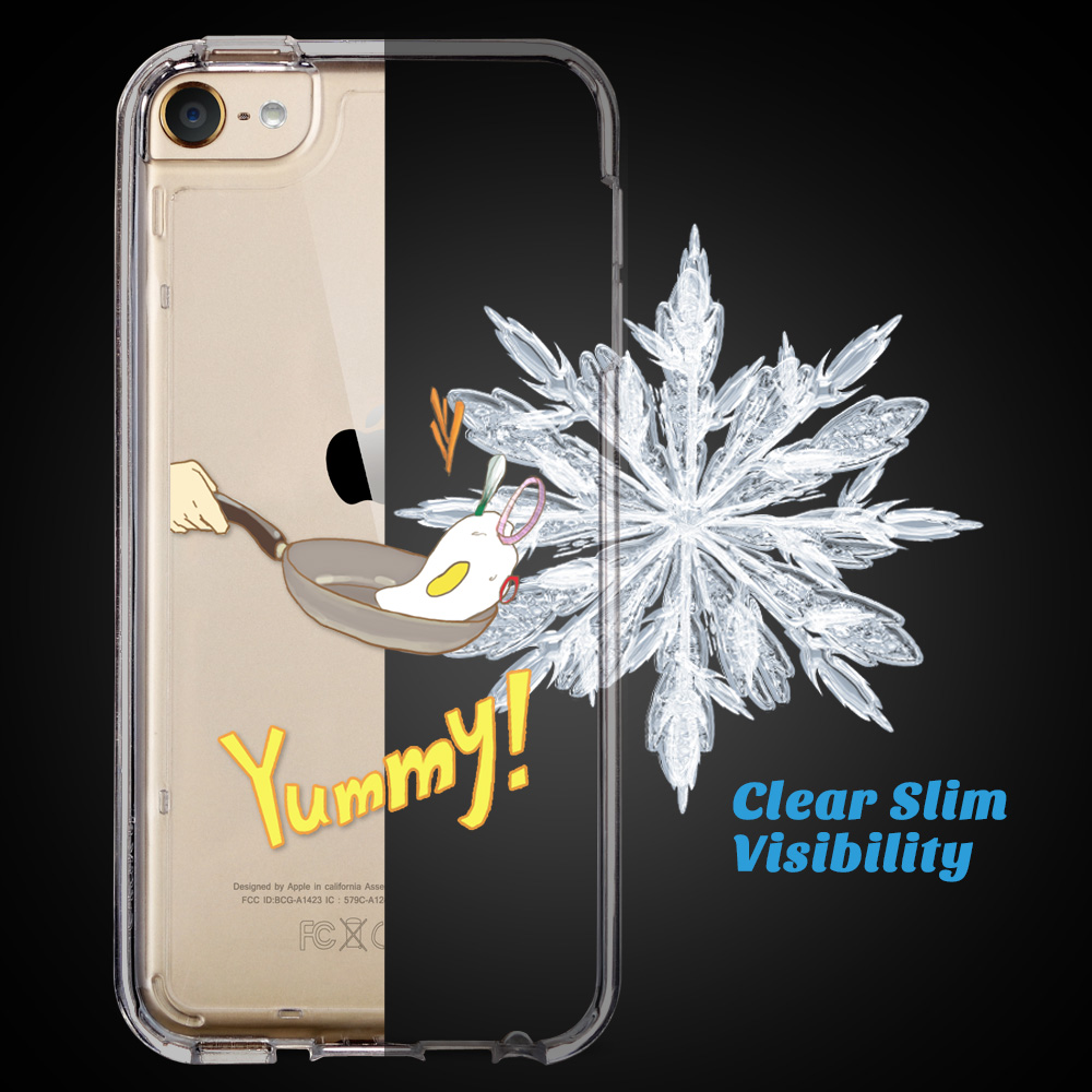 For-iPod-Touch-5-6th-7-Gen-Crystal-Clear-Back-Shockproof-Bumper-Hard-Case-Cover thumbnail 54