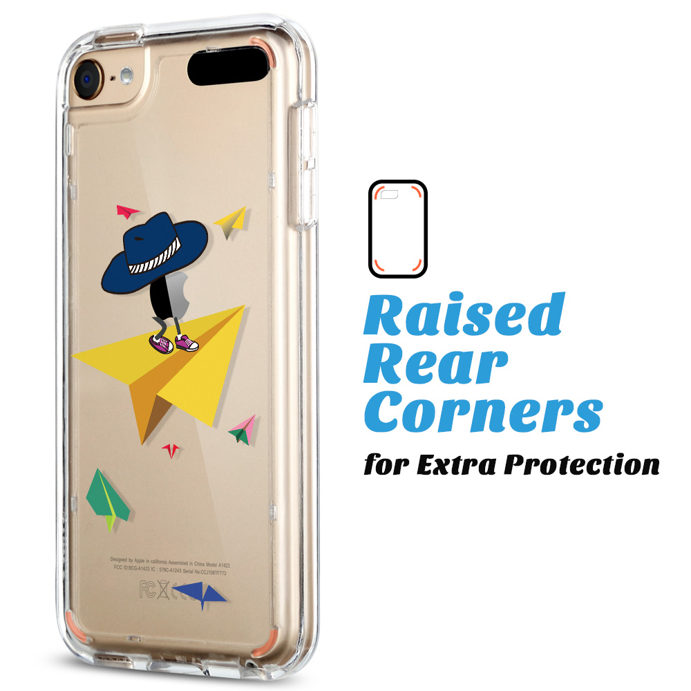 For-iPod-Touch-5-6th-7-Gen-Crystal-Clear-Back-Shockproof-Bumper-Hard-Case-Cover thumbnail 57