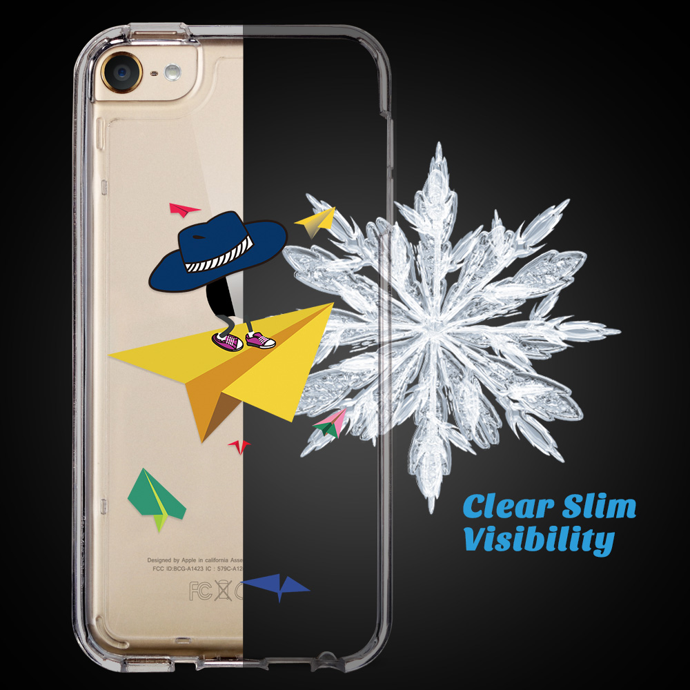 For-iPod-Touch-5-6th-7-Gen-Crystal-Clear-Back-Shockproof-Bumper-Hard-Case-Cover thumbnail 59