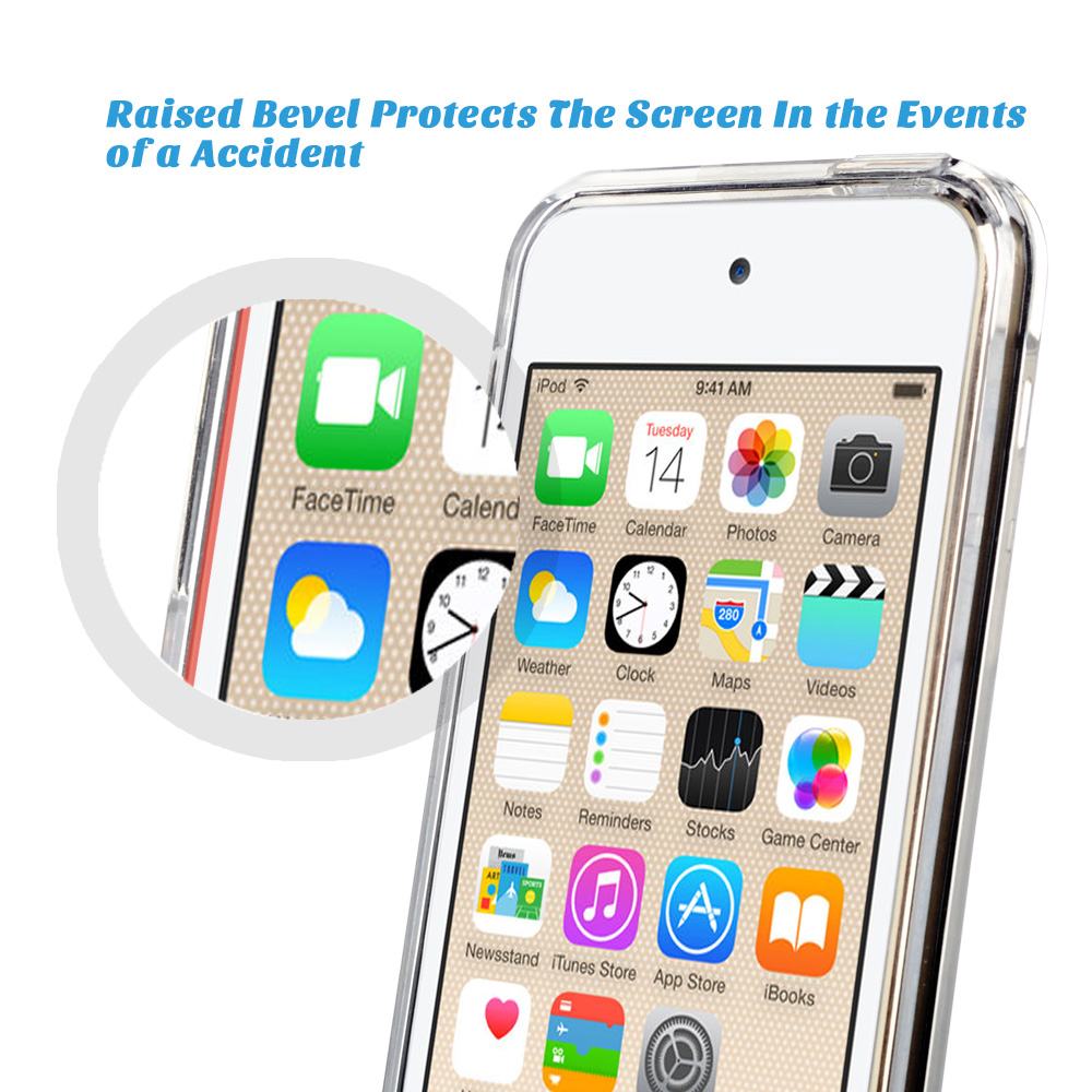 For-iPod-Touch-5-6th-7-Gen-Crystal-Clear-Back-Shockproof-Bumper-Hard-Case-Cover thumbnail 11