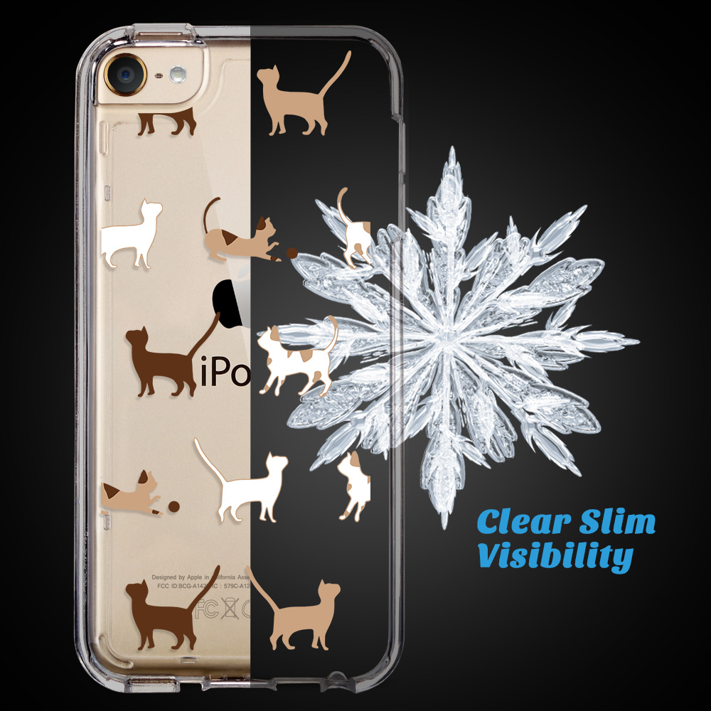 For-iPod-Touch-5-6th-7-Gen-Crystal-Clear-Back-Shockproof-Bumper-Hard-Case-Cover thumbnail 12