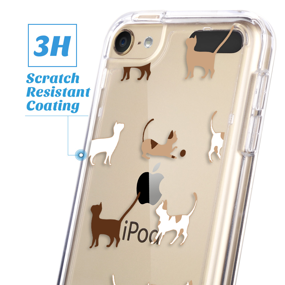 For-iPod-Touch-5-6th-7-Gen-Crystal-Clear-Back-Shockproof-Bumper-Hard-Case-Cover thumbnail 14