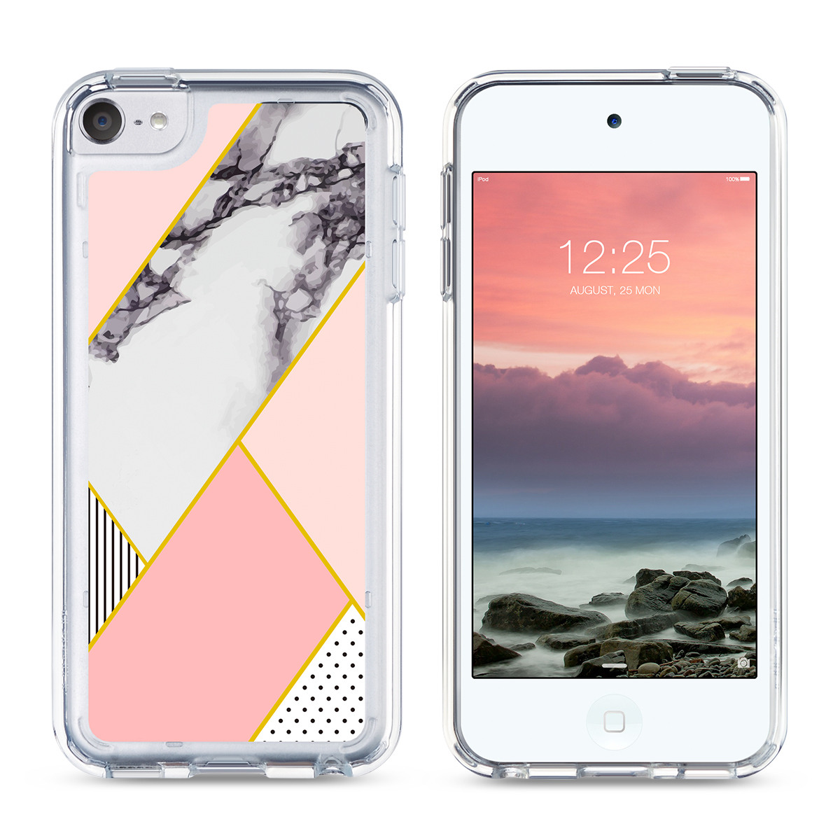For-iPod-Touch-5-6th-7-Gen-Crystal-Clear-Back-Shockproof-Bumper-Hard-Case-Cover thumbnail 63