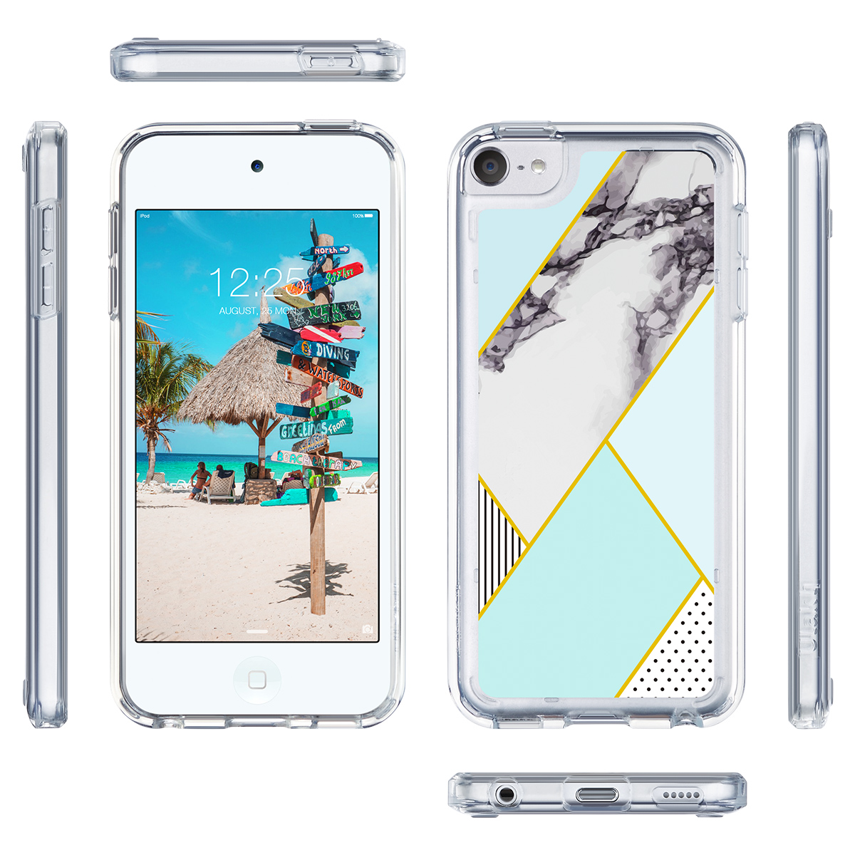 For-iPod-Touch-5-6th-7-Gen-Crystal-Clear-Back-Shockproof-Bumper-Hard-Case-Cover thumbnail 49
