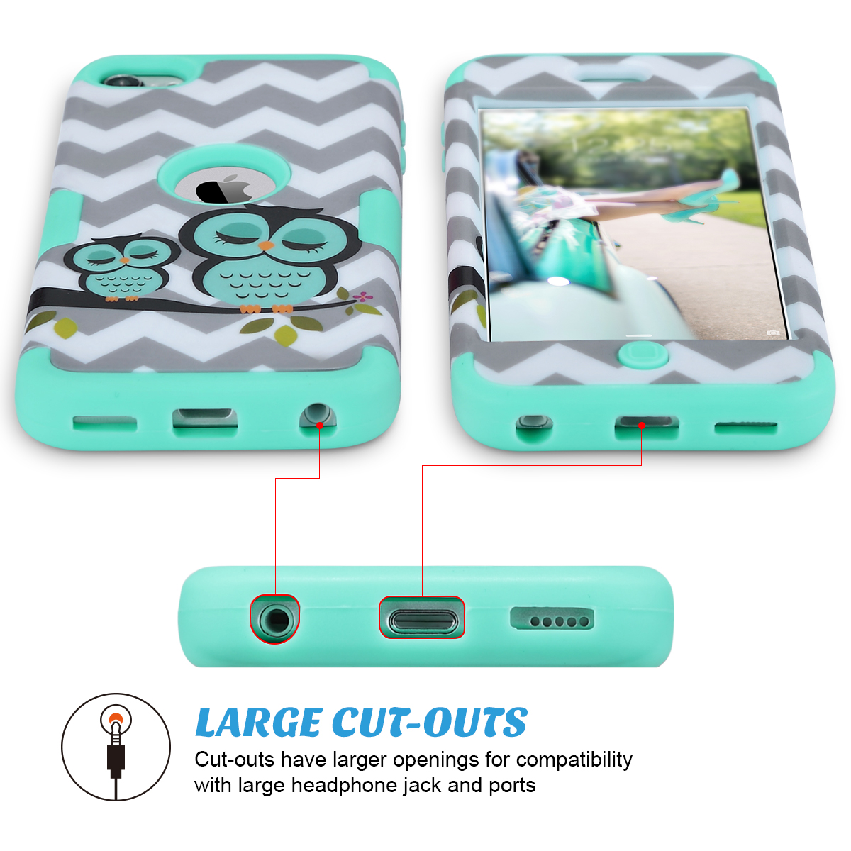 Hybrid-Hard-Protective-Silicon-TPU-Case-for-Apple-iPod-Touch-5-6th-Generation thumbnail 62