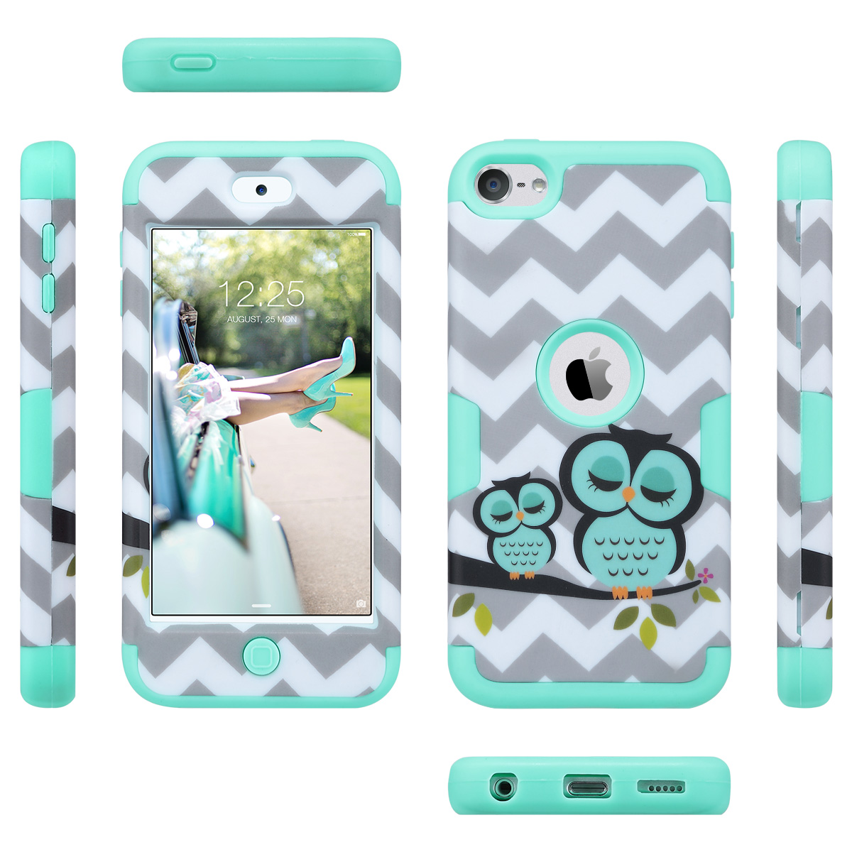 Hybrid-Hard-Protective-Silicon-TPU-Case-for-Apple-iPod-Touch-5-6th-Generation thumbnail 63