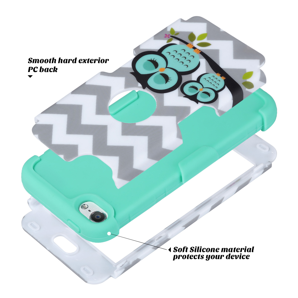 Hybrid-Hard-Protective-Silicon-TPU-Case-for-Apple-iPod-Touch-5-6th-Generation thumbnail 64