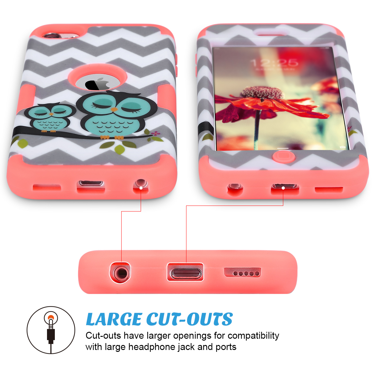 Hybrid-Hard-Protective-Silicon-TPU-Case-for-Apple-iPod-Touch-5-6th-Generation thumbnail 136