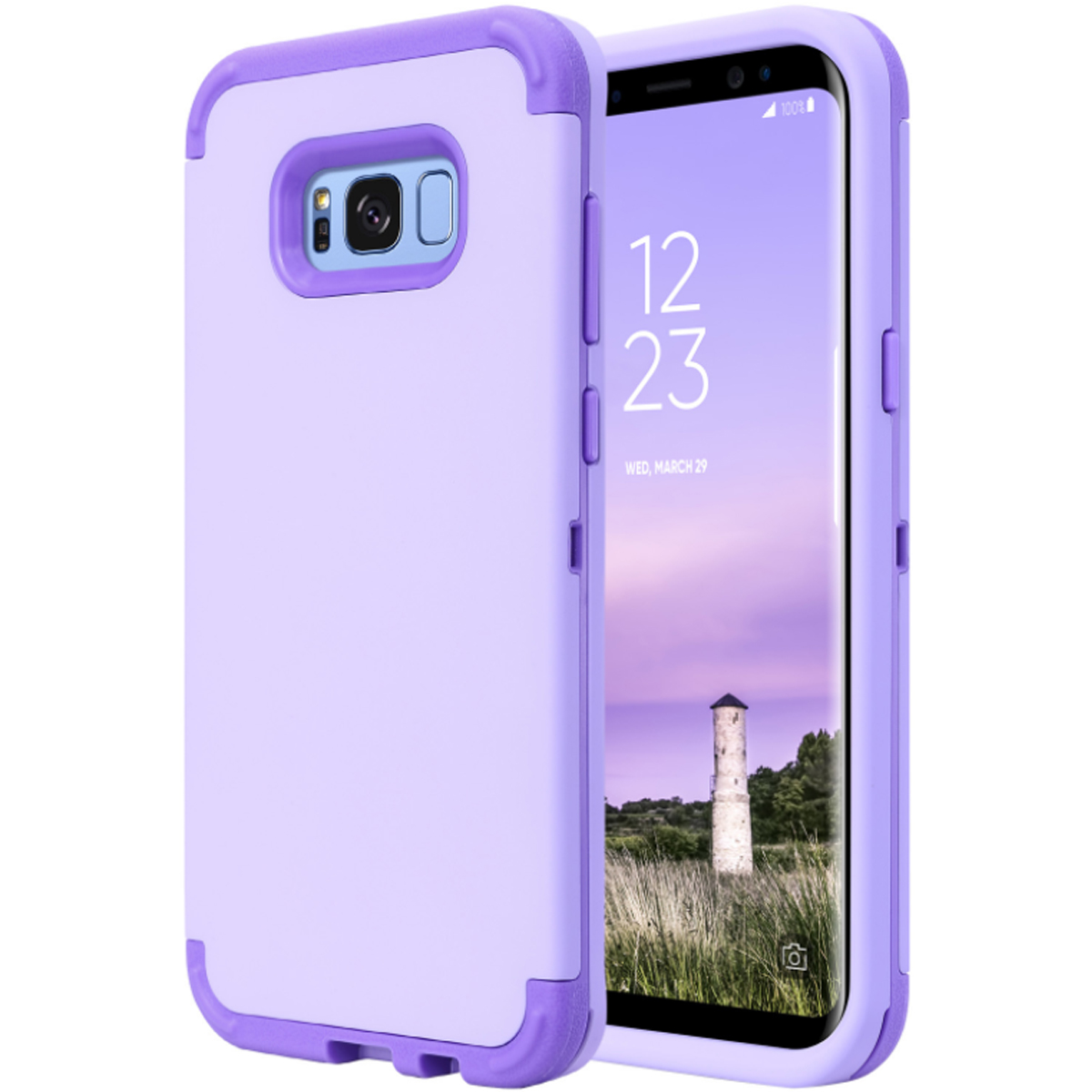 Hybrid Shockproof Rubber Hard Protective Case Cover For Samsung Goospery Galaxy S8 Plus New Bumper X Gold