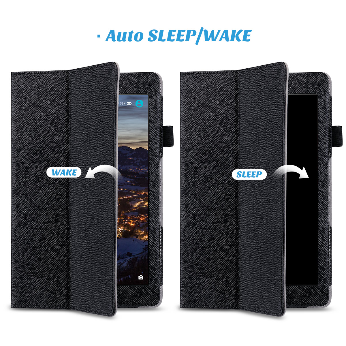 Flip-Wallet-Leather-Case-Cover-For-All-New-Amazon-Fire-HD-8-2016-Release-6th-Gen thumbnail 8