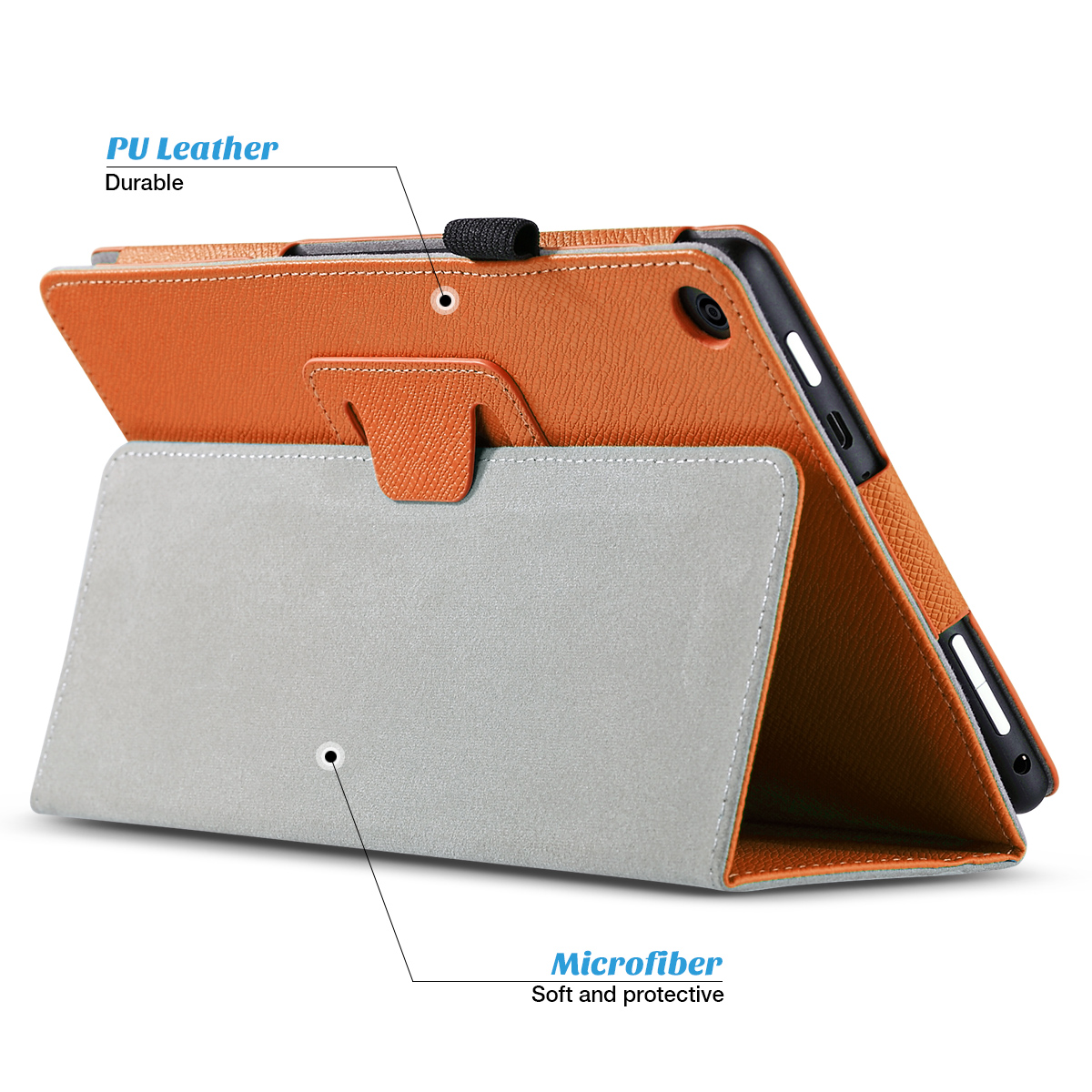 Flip-Wallet-Leather-Case-Cover-For-All-New-Amazon-Fire-HD-8-2016-Release-6th-Gen thumbnail 43