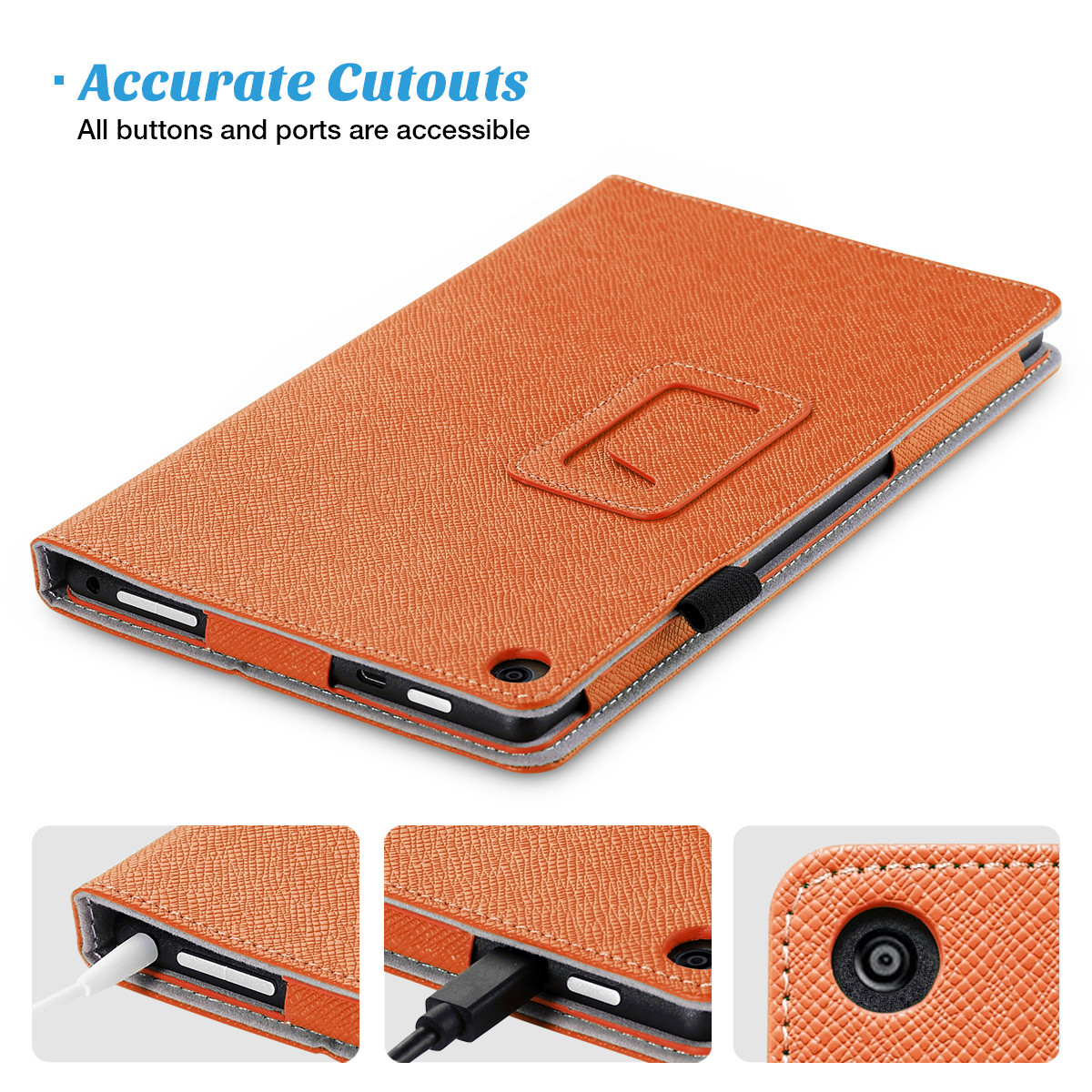 Flip-Wallet-Leather-Case-Cover-For-All-New-Amazon-Fire-HD-8-2016-Release-6th-Gen thumbnail 44